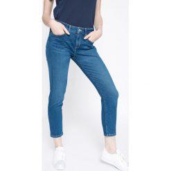 Tommy Hilfiger - Jeansy. Niebieskie jeansy damskie marki TOMMY HILFIGER, z bawełny. W wyprzedaży za 269,90 zł.