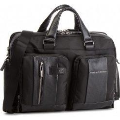 Torba na laptopa PIQUADRO - CA4441BR/N Czarny. Czarne torby na laptopa marki Piquadro, z materiału. W wyprzedaży za 1049,00 zł.