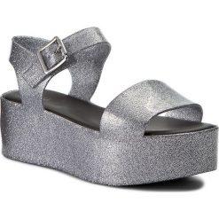 Rzymianki damskie: Sandały MELISSA – Mar Ad 31686 Silver/Negro 50743