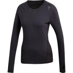 Koszulka do biegania damska ADIDAS ALPHASKIN SPORT / CF6555. Czarne bluzki sportowe damskie Adidas, z elastanu, z długim rękawem. Za 149,00 zł.