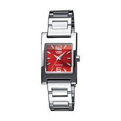 Zegarek Casio damski Sewora Quartz srebrny (LTP-1283D-4A2EF). Szare zegarki damskie CASIO, srebrne. Za 144,00 zł.