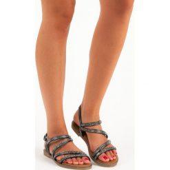 CZARNE SANDAŁY DAMSKIE - czarny. Czarne sandały trekkingowe damskie marki bonprix. Za 49,90 zł.
