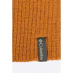 Columbia - Czapka. Brązowe czapki zimowe męskie marki Columbia, na zimę, z dzianiny. W wyprzedaży za 69,90 zł.