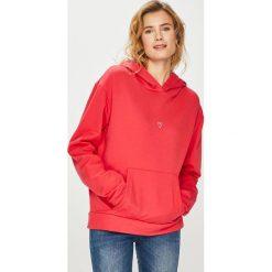Answear - Bluza. Różowe bluzy z kapturem damskie ANSWEAR, m, z bawełny. Za 89,90 zł.