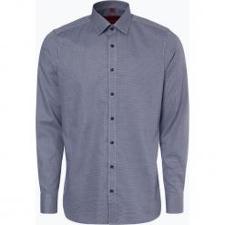 Finshley & Harding - Koszula męska łatwa w prasowaniu, niebieski. Czarne koszule męskie non-iron marki Finshley & Harding, w kratkę. Za 129,95 zł.