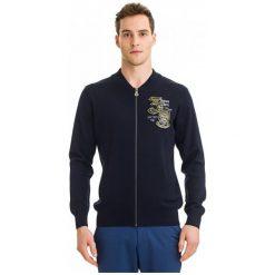 Galvanni Sweter Męski Swan Xl Ciemny Niebieski. Niebieskie swetry klasyczne męskie GALVANNI, m. W wyprzedaży za 309,00 zł.