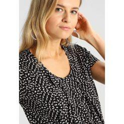 T-shirty damskie: JoJo Maman Bébé PLEATED SPOT Tshirt z nadrukiem black