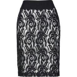 Spódniczki ołówkowe: Spódnica bonprix czarno-srebrny
