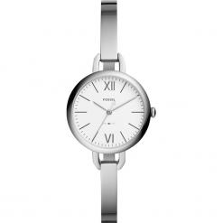 Zegarek FOSSIL - Annette ES4390  Silver/Silver. Różowe zegarki damskie marki Fossil, szklane. Za 599,00 zł.