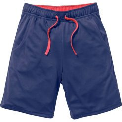 Odzież chłopięca: Spodnie sportowe funkcyjne, oddychające i szybko schnące bonprix kobaltowo-pomarańczowy neonowy