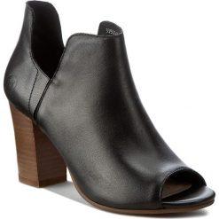 Botki BRONX - 33926-K-01 Black 01. Czarne buty zimowe damskie marki Bronx, z materiału. W wyprzedaży za 219,00 zł.