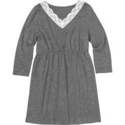 Bielizna nocna: Koszula nocna bonprix szary melanż