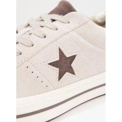 Converse ONE STAR TROPICAL FEET Tenisówki i Trampki papyrus/dark chocolate/egret. Szare tenisówki damskie marki Converse, z gumy. Za 359,00 zł.