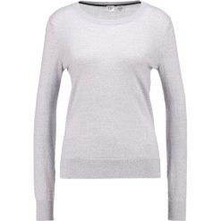 Swetry klasyczne damskie: GAP CREW Sweter light heather grey