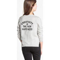 Sweter z cienkiej dzianiny, z napisem z tyłu 10-16 lat. Szare swetry chłopięce La Redoute Collections, z napisami, z bawełny, z okrągłym kołnierzem. Za 52,88 zł.