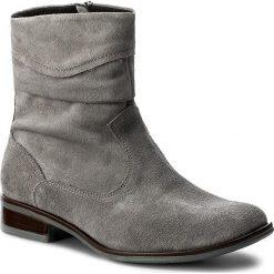 Botki SERGIO BARDI - Altamura FW127264817JN 809. Szare buty zimowe damskie Sergio Bardi, ze skóry, na obcasie. W wyprzedaży za 209,00 zł.