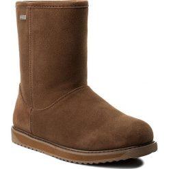 Buty EMU AUSTRALIA - Paterson Classic Lo W11590 Oak. Brązowe buty zimowe damskie marki EMU Australia, ze skóry, na niskim obcasie. Za 769,00 zł.