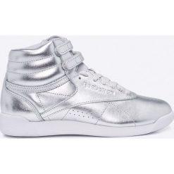 Reebok Classic - Buty F/S Hi Metallic. Szare buty sportowe damskie reebok classic marki Reebok Classic, z materiału. W wyprzedaży za 199,90 zł.