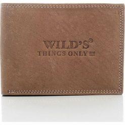 Portfele męskie: Elegancki portfel skórzany Wild`s