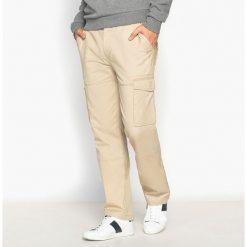 Bojówki męskie: Spodnie bojówki, proste, czysta bawełna