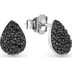 Biżuteria i zegarki: RABAT Kolczyki Srebrne – srebro 925, Cyrkonia