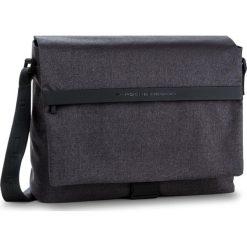 Torba na laptopa PORSCHE DESIGN - Cargon Cp Messenger 4090002565  Dark Grey 802. Szare torby na laptopa marki Porsche Design, z materiału. W wyprzedaży za 779,00 zł.