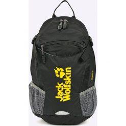Jack Wolfskin - Plecak. Czarne plecaki męskie marki Jack Wolfskin, w paski, z materiału. Za 219,90 zł.