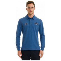 Galvanni Koszulka Polo Męska Redcliffe M Niebieski. Niebieskie koszulki polo GALVANNI, m, z bawełny. W wyprzedaży za 299,00 zł.