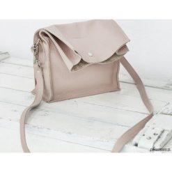 Boxy Bag / Powder Pink - dwuczęściowa torebka. Różowe torebki klasyczne damskie Pakamera. Za 429,00 zł.
