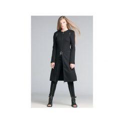Płaszcze damskie pastelowe: Płaszcz z dzianiny z zamkami