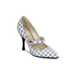 Czółenka Marc Jacobs  MJ18354. Szare buty ślubne damskie Marc Jacobs. Za 1735,20 zł.
