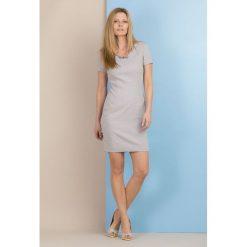Sukienki: Sukienka z subtelną fakturą