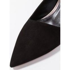 Oxitaly SANDRA Czółenka nero. Czarne buty ślubne damskie Oxitaly, z materiału. Za 589,00 zł.