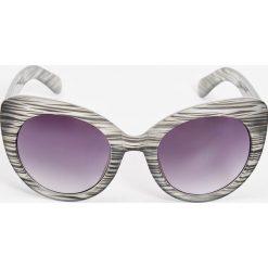 Okulary przeciwsłoneczne damskie aviatory: Okulary przeciwsłoneczne – Szary