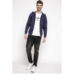 Pepe Jeans - Bluza. Szare bluzy męskie rozpinane Pepe Jeans, m, z bawełny, z kapturem. Za 299,90 zł.