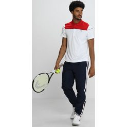 Lacoste Sport DJOKOVIC Koszulka polo red/white black. Białe koszulki polo Lacoste Sport, m, z materiału. Za 399,00 zł.