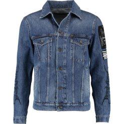 Tiger of Sweden Jeans PRIMAL  Kurtka jeansowa medium blue. Niebieskie kurtki męskie jeansowe marki Tiger of Sweden Jeans, m. W wyprzedaży za 551,60 zł.