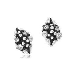 Biżuteria i zegarki: Unikalne Klipsy Srebrne – srebro 925, Cyrkonia…