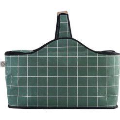 Torba piknikowa chłodząca House Doctor kratka. Szare torby plażowe House Doctor, z materiału. Za 111,00 zł.