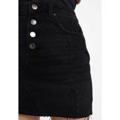 Minispódniczki: Miss Selfridge Petite FLY SKIRT Spódnica trapezowa black