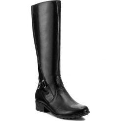 Oficerki SERGIO BARDI - Cento FW127265217JN 101. Czarne buty zimowe damskie Sergio Bardi, ze skóry, na obcasie. W wyprzedaży za 289,00 zł.