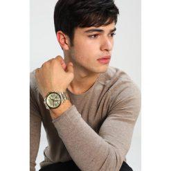 Armani Exchange Zegarek chronograficzny goldcoloured. Czarne zegarki męskie marki Armani Exchange, l, z materiału, z kapturem. Za 1009,00 zł.
