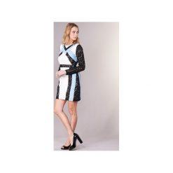 Sukienki krótkie Morgan  RLIXI. Białe sukienki hiszpanki Morgan, z krótkim rękawem, mini. Za 332,00 zł.