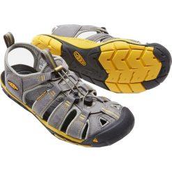 Sandały męskie: Keen Sandały męskie CLEARWATER CNX kolor Gargoyle/Super Lemon r. 42 (CLEARWTR-MN-GYSL)