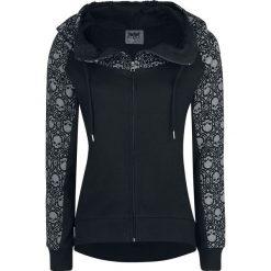 Black Premium by EMP Freaking Out Loud Bluza z kapturem rozpinana damska czarny. Czarne bluzy rozpinane damskie marki Black Premium by EMP, xl, z nadrukiem, z kapturem. Za 149,90 zł.