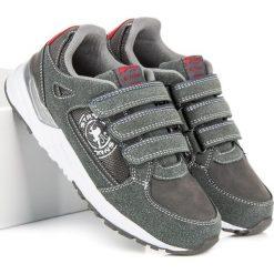 Wygodne buty dla chłopca LORELAI. Szare buty sportowe chłopięce American CLUB. Za 89,99 zł.
