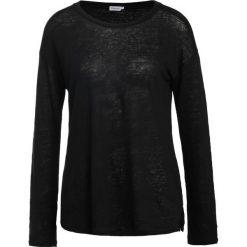 Bluzki asymetryczne: Filippa K RELAXED FIT Bluzka z długim rękawem black