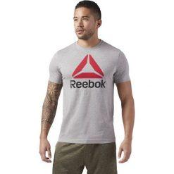 Reebok Koszulka szara QQR Stacked r. S (CW5366). Szare koszulki sportowe męskie Reebok, m. Za 69,24 zł.