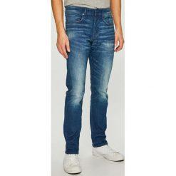 G-Star Raw - Jeansy 3301. Czarne jeansy męskie z dziurami marki G-Star RAW, l, z materiału, retro. Za 469,90 zł.