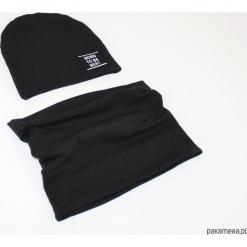 Komplet czapka i komin 20 kolorow. Białe czapeczki niemowlęce marki Pakamera, z dzianiny. Za 69,00 zł.